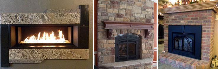 Gas Fireplaces & Inserts « JCS Fireplace & Stone